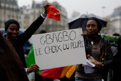 Laurent Gbagbo supporters in Europe.