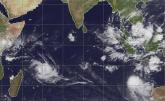Imelda - Intensification du cyclone tropical