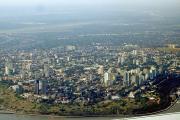 Vue aérienne de Maputo
