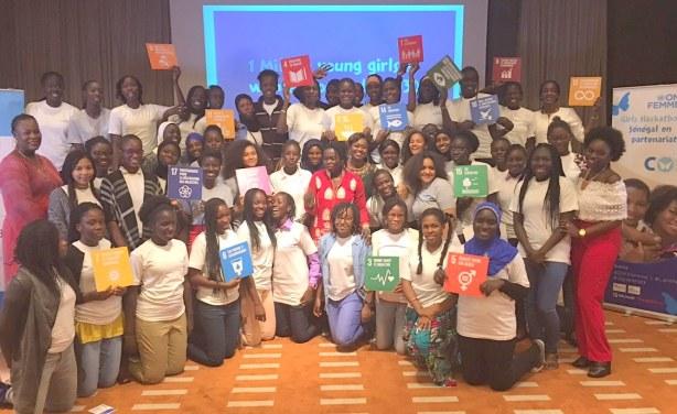 Une cinquantaine de filles initiées à décoder les ODD au Sénégal