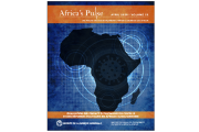 Couverture du rapport Africa's Pulse Avril 2020