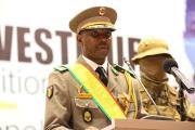Le colonel Assimi Goïta, président de la transition au Mali